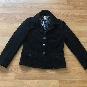 Chico's Size 0 black coat